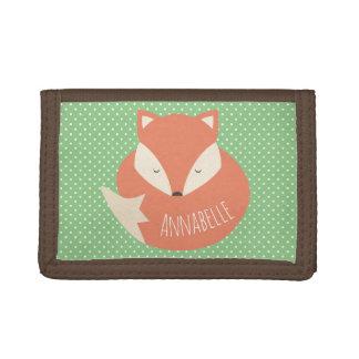 Fox mignon personnalisé de sommeil