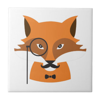 Fox orange carreau