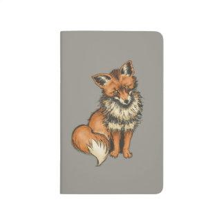 Fox rouge carnet de poche