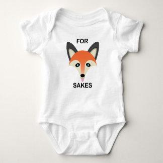 Fox rouge - Combinaison du Jersey de bébé T-shirt