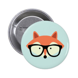 Fox rouge de hippie mignon badge
