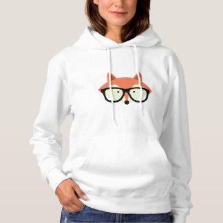 Fox rouge de hippie mignon pull à capuche