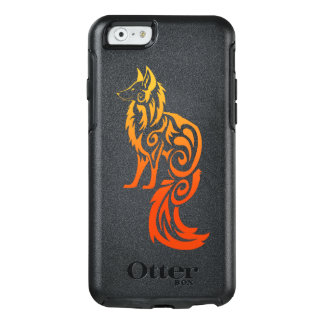 Fox rouge Kitsune de tribal de Firey Coque OtterBox iPhone 6/6s