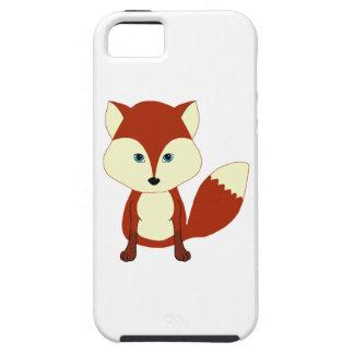 Fox rouge mignon coque iPhone 5