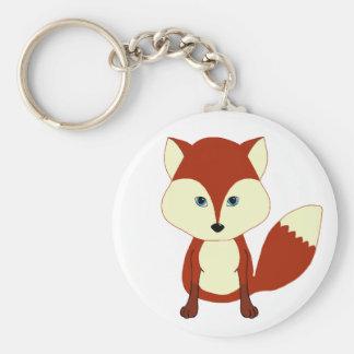 Fox rouge mignon porte-clés