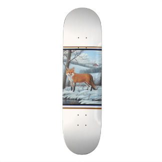 Fox rouge skateboards cutomisables