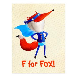 Fox superbe cartes postales