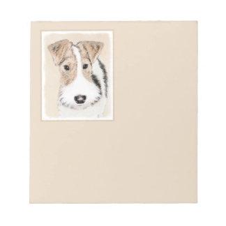 Fox Terrier de fil Bloc-note