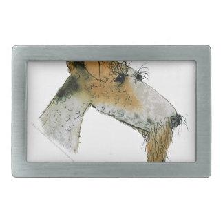 Fox Terrier, fernandes élégants Boucle De Ceinture Rectangulaire