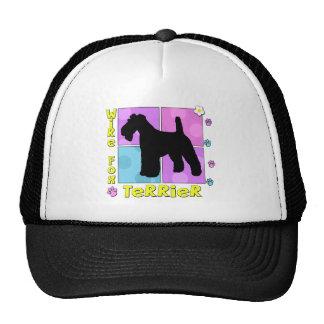 Fox Terrier super de fil Casquettes De Camionneur