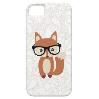 Fox w/Glasses de bébé de hippie Étui iPhone 5