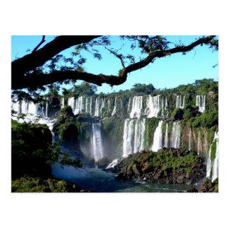 Foz do Iguaçu/chutes d'Iguaçu Carte Postale