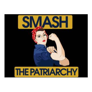 Fracas le patriarcat carte postale