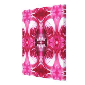 Fractale 2 d'art de photo de rose rouge toiles