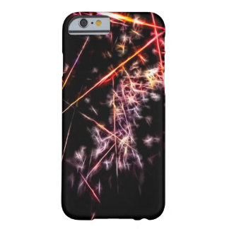 Fractale abstraite de Big Bang Coque iPhone 6 Barely There