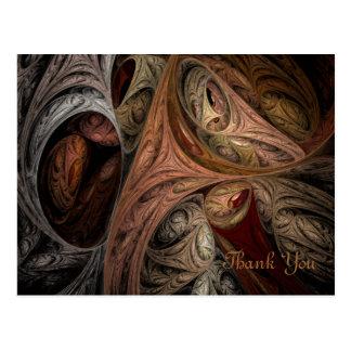 Fractale de torsion d'épice carte postale