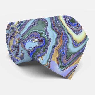 Fractale de tourbillonnement de courants cravates