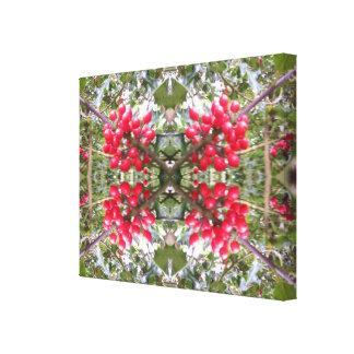 Fractale en cristal 2 de photo de houx toiles