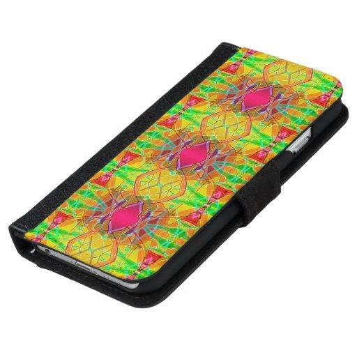 Fractale ethnique de l'iPhone 6 de caisse de
