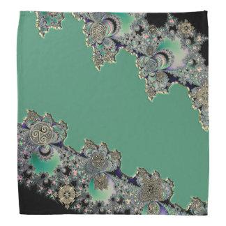 Fractale mystique celtique verte bandanas