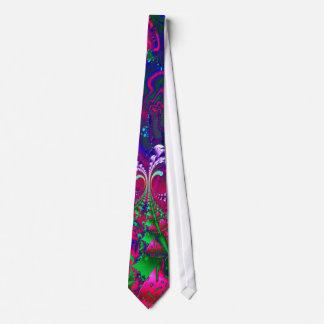 Fractale psychédélique de Nerdberries Cravates Personnalisables