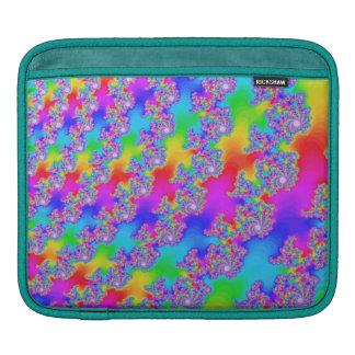 Fractale saisissante d'arc-en-ciel poches pour iPad