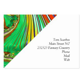 Fractale spéciale, 29 carte de visite grand format
