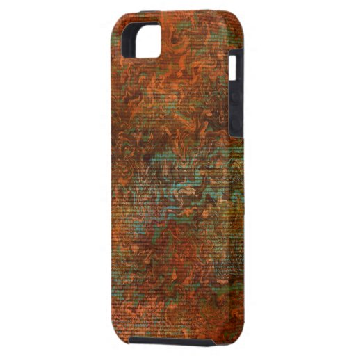 Fractales abstraites de Digitals - cas de l'iPhone Coque iPhone 5 Case-Mate