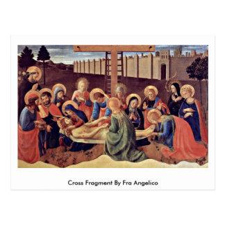 Fragment croisé par ATF Angelico Cartes Postales