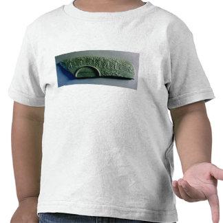 Fragment d'une palette avec une scène de chasse, t-shirt