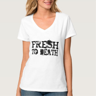 Frais aux femmes de la mort t-shirt