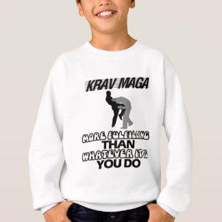 frais et tendant des conceptions de maga de Krav Sweatshirt