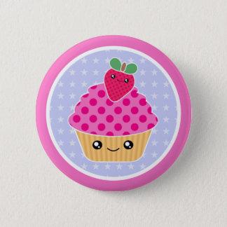 Fraise de petit gâteau de Kawaii Badges