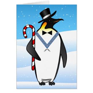Franc-maçon maçonnique des cartes de Noël | bonnes