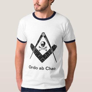 """Franc-maçon """"ordre hors de chaos """" t-shirt"""