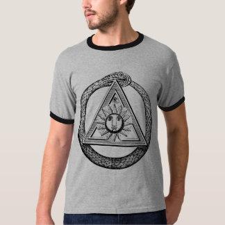 Franc-maçonnerie tout le symbole maçonnique voyant t-shirt