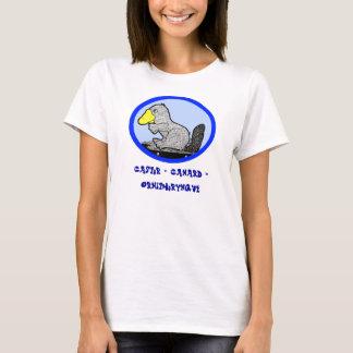 Français - castor + Canard = ornithorynque T-shirt