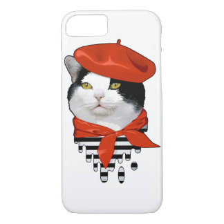 Français de chat coque iPhone 7