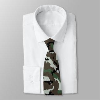 Français Europe centrale Camo Cravate