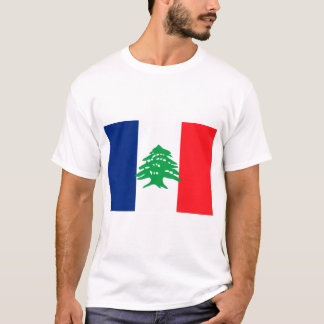 Français libanais, Liban T-shirt