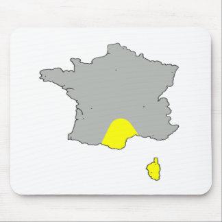 FRANCE PLUIE NORD SOLEIL SUD 1.PNG TAPIS DE SOURIS