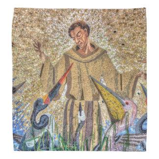 Francis de mosaïque d'Assisi Bandana