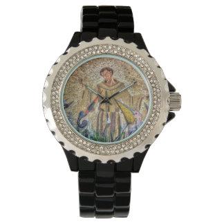 Francis de mosaïque d'Assisi Montre