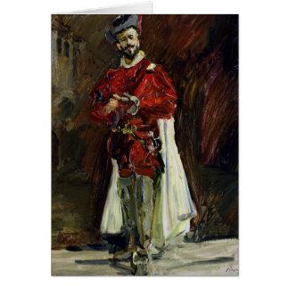 Francisco D'Andrade comme Don Giovanni, 1912 Carte De Vœux