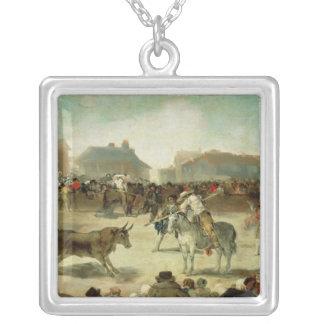 Francisco Jose de Goya | une corrida de village Pendentif Carré