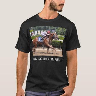 Franco dans le premier t-shirt