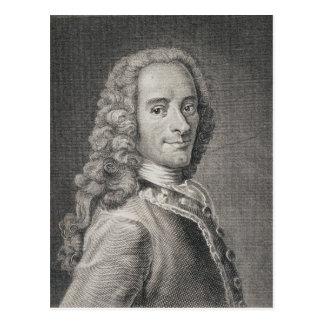 Francois Marie Arouet de Voltaire Carte Postale