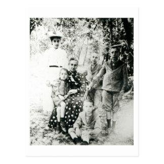 Francois Mauriac (1885-1970) en tant qu'enfant Carte Postale