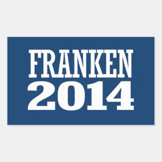 FRANKEN 2014 STICKERS EN RECTANGLE