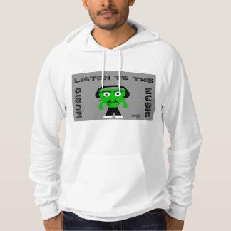 FrankenCheese écoutent le sweat - shirt à capuche Pulls Avec Capuche